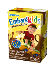 bebida láctea embarékids chocolate caixa 200ML