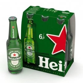 PACK HEINEKEN 330ML  6 UNI